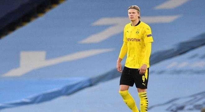 Técnico do Dortmund sobre Haaland: ''Não sabemos o que acontecerá''