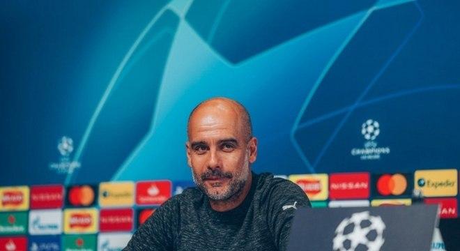 Guardiola descarta jogo defensivo: 'Vamos impor nosso jogo'