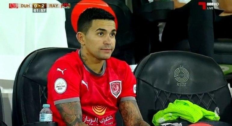 Decepcionado com postura do Al-Duhail, Dudu já se prepara para voltar ao Palmeiras