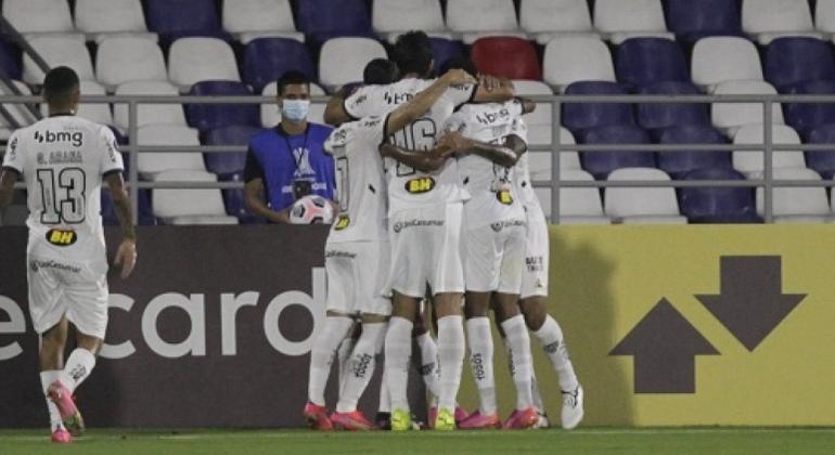 Atlético-MG venceu por 3 a 1 e se garantiu nas oitavas de final