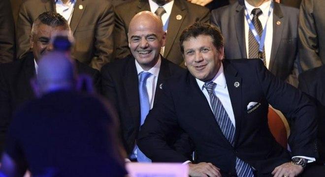 Gianni Infantino será candidato à reeleição da Fifa