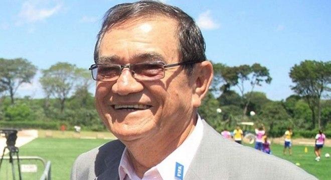 O presidente da CBF, Coronel Nunes