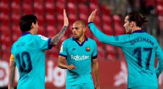 Camisa 10 fez um gol e deu duas assistências contra o Mallorca