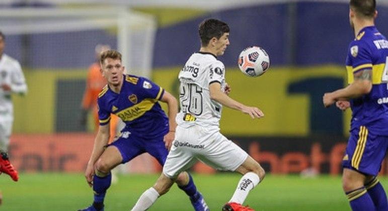 Atlético-MG pouco produziu ofensivamente contra o Boca