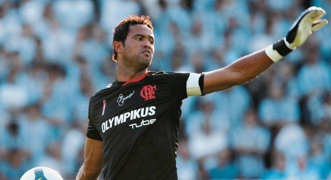Goleiro Bruno foi campeão brasileiro pelo Flamengo