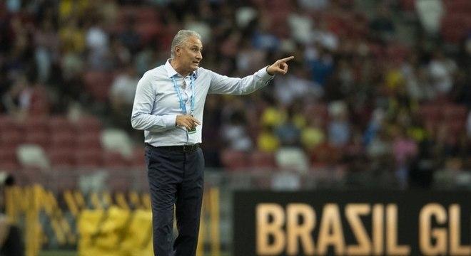 Tite ressaltou o segundo tempo da seleção brasileira