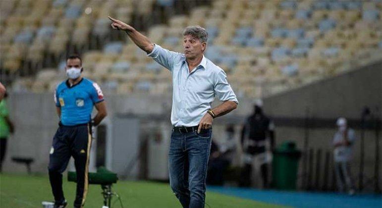 Renato Gaúcho ficou bastante feliz com o desempenho do seu time contra o Juventude