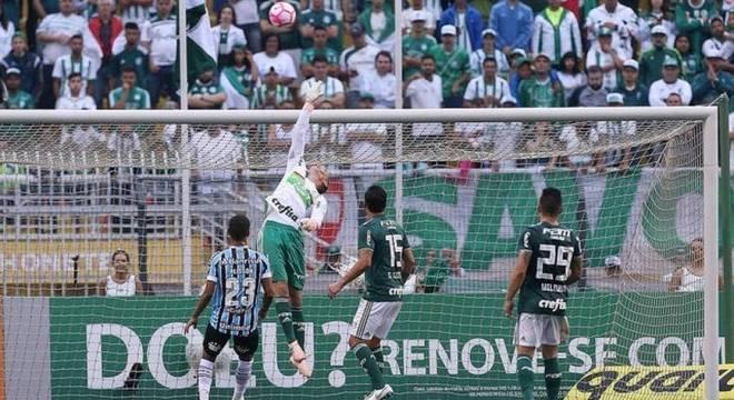 Prass faz defesa na última partida do Verdão sem sofrer gols: 2 a 0 sobre Grêmio