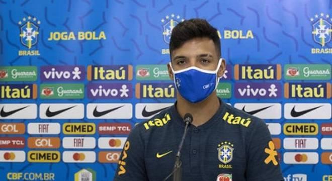 Gabriel Menino testou positivo e foi cortado da Seleção Brasileira