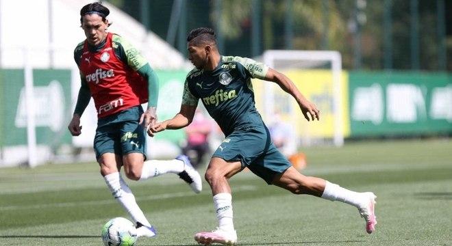 Rony é um dos cinco jogadores do Palmeiras infectados com covid-19