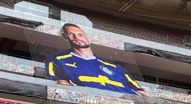 Mané Garrincha terá mosaico de Weverton em decisão da Recopa