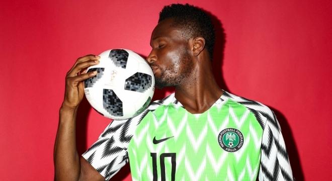 Obi Mikel é o capitão da seleção nigeriana