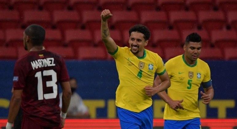 """Marquinhos comemora fase artilheira: """"Feliz em poder ajudar"""""""