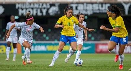 Brasil mostrou volume de jogo, mas não conseguiu marcar