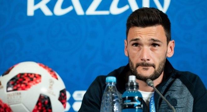 Hugo Lloris pregou respeito à equipe da Croácia e seriedade na final