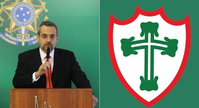 Ministro da Educação se envolveu em polêmica com a Portuguesa