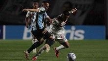Grêmio fica em situação delicada com derrota no Morumbi