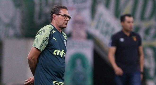 Palmeiras ainda não perdeu no Brasileirão, mas poderia estar melhor na tabela