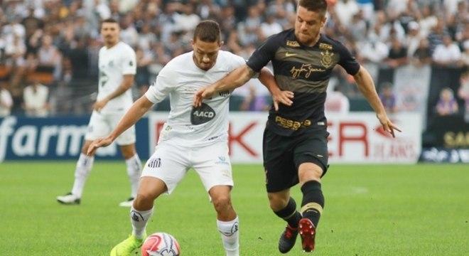 Ramiro na marcação de jogador do Santos no domingo 4d512994b387c