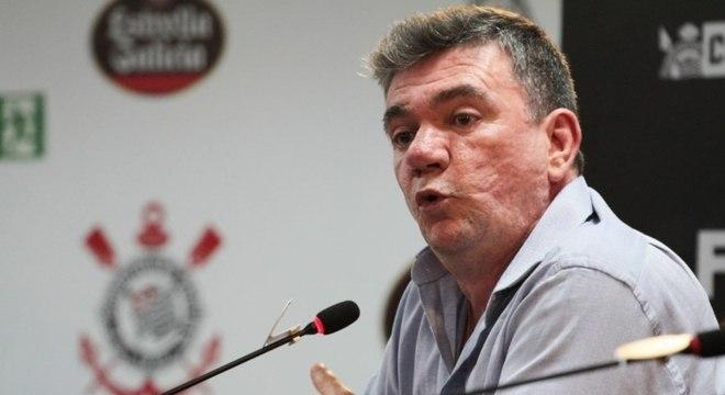 Presidente do Corinthians não quis se aprofundar com as críticas de arbitragem