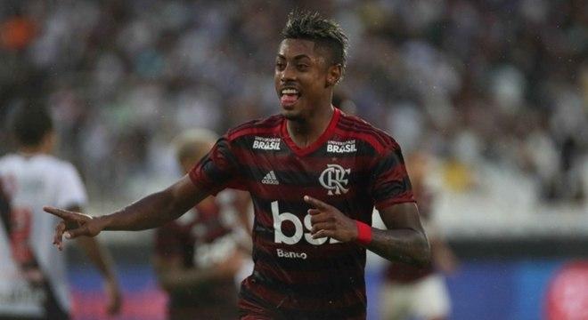 Bruno Henrique colocou o Flamengo em vantagem, mas não jogará a final