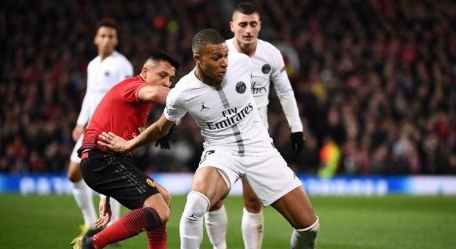 Mbappé ficou bastante insatisfeito com a derrota