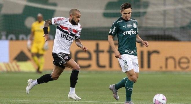 Palmeiras e São Paulo vivem mometos distintos na temporada 2021