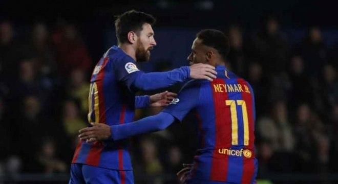 Messi, Neymar e Suárez formaram um dos trios mais vitoriosos da história