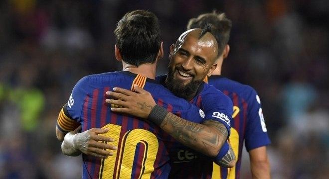 Chileno Arturo Vidal já havia declarado paixão pelo futebol brasileiro