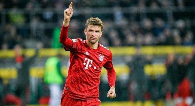 Muller é um dos principais atletas do Bayern de Munique na temporada