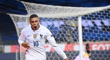 Mbppé está com a França na Eurocopa 2020
