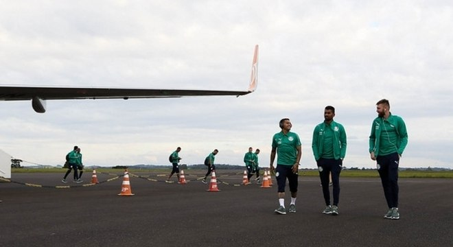 Delegação do Palmeiras acumulará mais de 13 mil km em viagens em nove dias