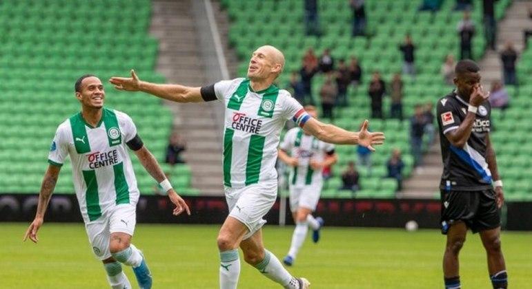 Robben rendeu muito pouco em sua segunda passagem pelo Groningen