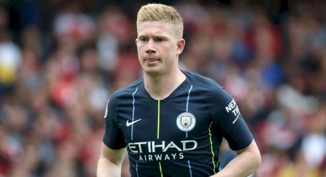 Kevin De Bruyne pode desfalcar o Manchester City após lesão no joelho