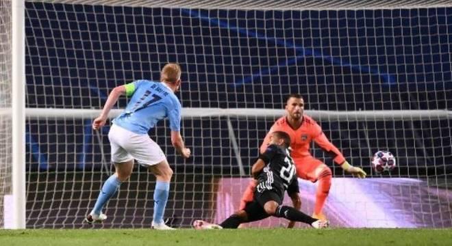 Um dos principais jogadores do City, De Bruyne mostrou descontentamento com derrota
