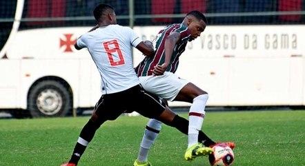 Flu e Vasco jogaram pela Taça Rio sub-20