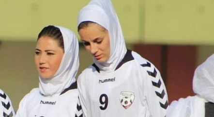 Jogadoras da base afegã fugiram do país