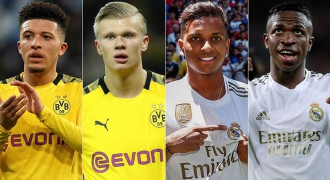 Jovens do Dortmund e Real Madrid concorrem ao prêmio Golden Boy