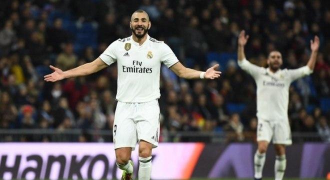 Benzema marcou o único gol da partida deste sábado
