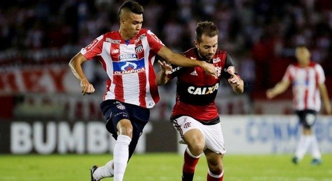 Alvo do Corinthians, Cantillo liderou estatísticas do Barranquilla na Libertadores