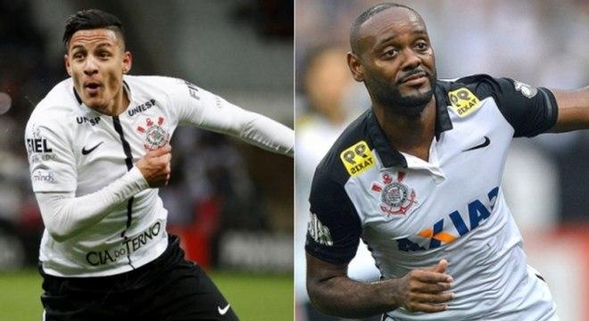 Arana e Love foram campeões brasileiros pelo Corinthians