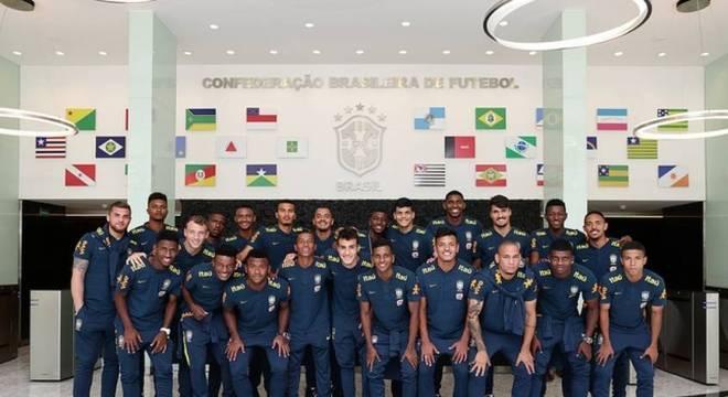 Numeração da Seleção Brasileira Sub-20 é divulgada  Rodrygo é o 10 ... 3ab1ad27650ed
