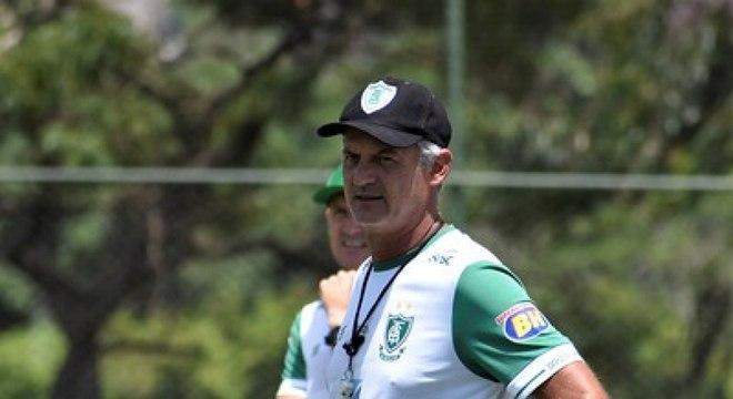 Lisca se diz feliz no América-MG; nome do treinador está sendo veiculado ao Santos