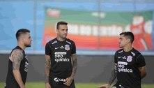 Corinthians encerra preparação para estreia na Copa do Brasil