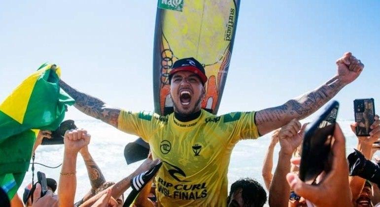 Tricampeonato mundial era um dos sonhos de Gabriel Medina