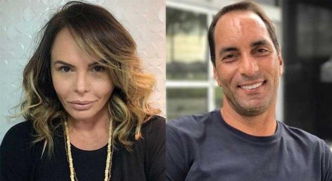 Cristiane Mortágua cometou sobre o ex-jogador Edmundo nas redes sociais