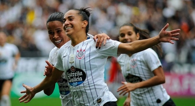 A atacante Millene marcou na final e foi artilheira do Paulista feminino 2019