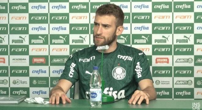Alan Empereur foi contratado pelo Palmeiras na semana passada