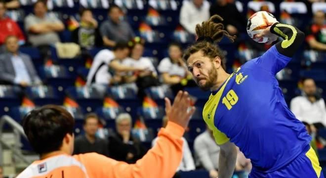 Fabio Chiuffa foi um dos destaques do Brasil nesta quinta (17)