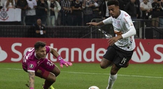Gustagol não se encaixa em estilo de jogo do técnico Thiago Nunes